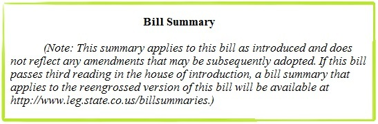 "Bill Summaries  -- Your Source for the ""Quick and Dirty"" on a Bill"