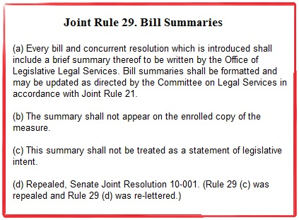 Joint Rule 29
