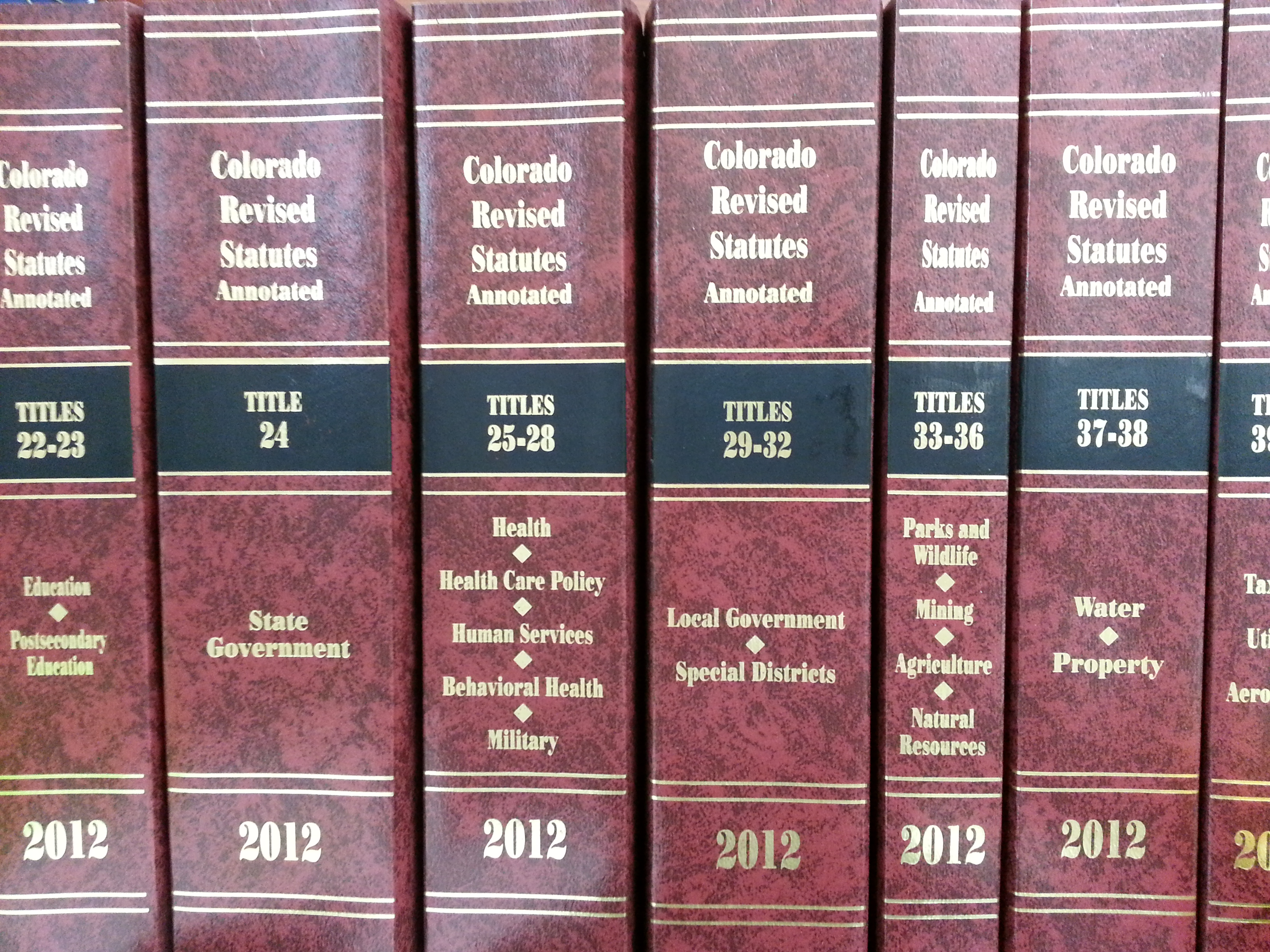The Publications of the Colorado General Assembly
