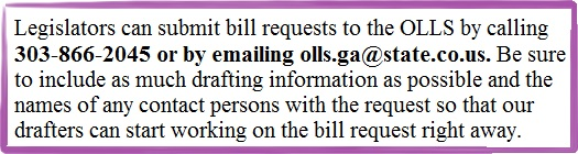 Bill Requests 2
