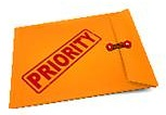 priority envelope