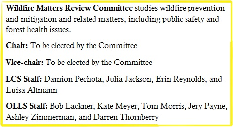 Wildfire Matters Review Committee