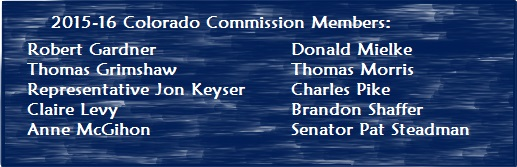 2015-16 Colorado Commission Members