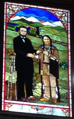 Old Supreme Court Windows Honor Ethnic and Racial Group History in Colorado
