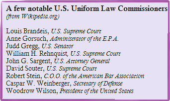 "The ""C"" in Uniform Law Commission"