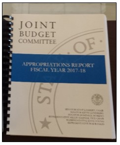 Joint Budget Committee to Write State's Budget for the 58th Time