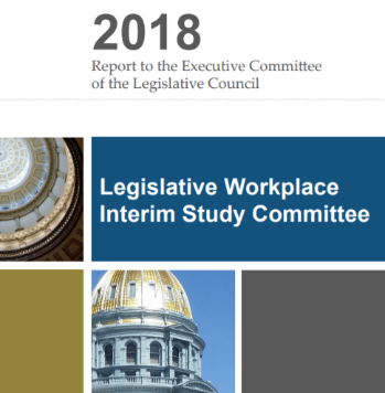 Interim Committee Recommends Changes to the Legislative Workplace Harassment Policy and Joint Rules